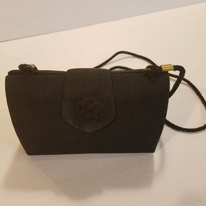 Ann Taylor Black Mini Evening Bag
